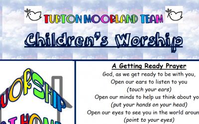 Turton Moorland Team Children's Worship 24th May