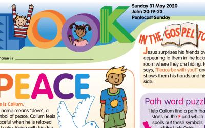 LOOK Children's Fun Activity Sheet 31st May