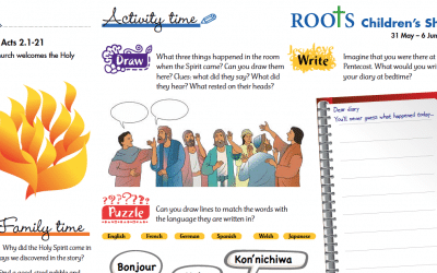 Roots Children's Sheet 31st May – 6th June
