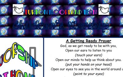 Turton Moorland Team Children's Worship Trinity Sunday 7th June