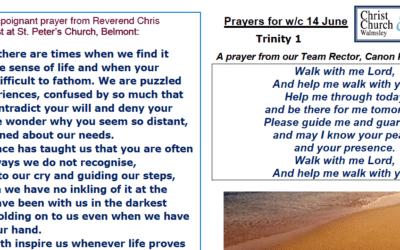 Prayer Booklet from Walmsley Parish Trinity 1 Sunday 14th June