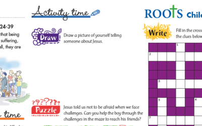 Roots Children's Sheet 21st – 27th June
