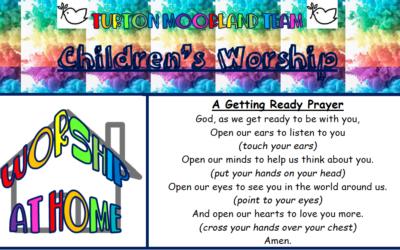 Turton Moorland Team Children's Worship Sunday 28th June