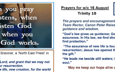 Prayer Booklet from Walmsley Parish Sunday 16th Aug