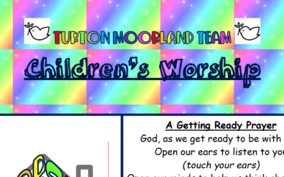 Turton Moorland Team Children's Worship Sunday 23rd August