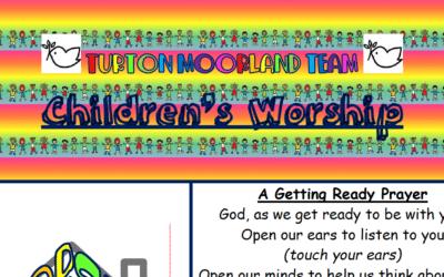 Turton Moorland Team Children's Worship Sunday 6th Sept