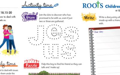 Roots Children's Sheet 6th Sept