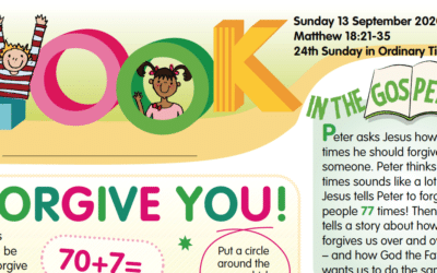 LOOK Children's Fun Activity Sheets for Sunday 13th Sept