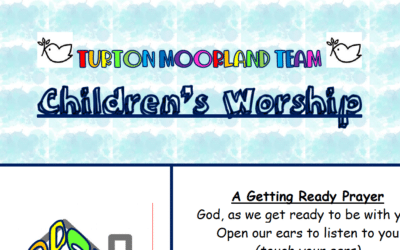 Turton Moorland Team Children's Worship Sunday 13th Sept