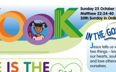 LOOK Children's Fun Activity Sheets for Sunday 25th Oct