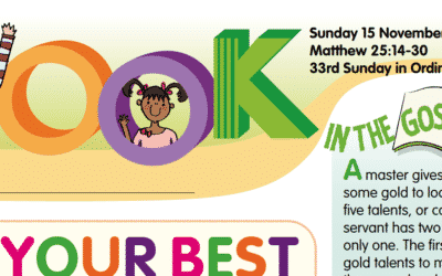 LOOK Children's Fun Activity Sheets for Sunday 15th Nov