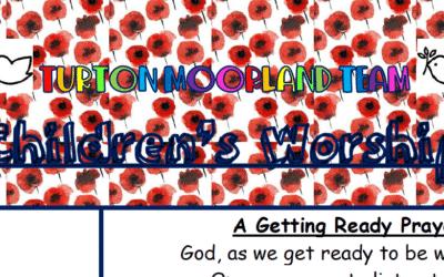 Turton Moorland Team Children's Worship Sunday 8th Nov