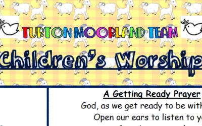 Turton Moorland Team Children's Worship Sunday 20th Nov