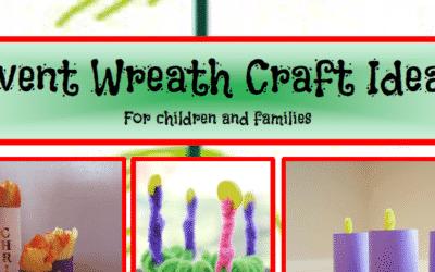 Advent Wreath Craft Ideas