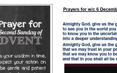 Prayer Booklet from Walmsley Parish Sunday 6th Dec