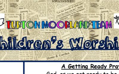 Turton Moorland Team Children's Worship Sunday 6th Dec 20